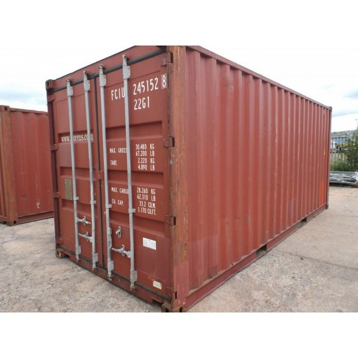 20ft Standard Cargo Worthy Container from Charleston