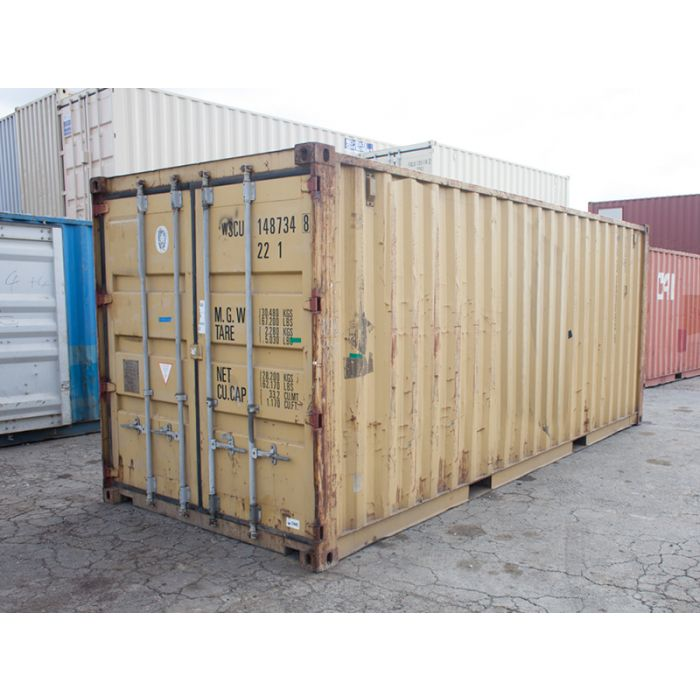 20ft Standard Wind and Watertight Container from Cleveland