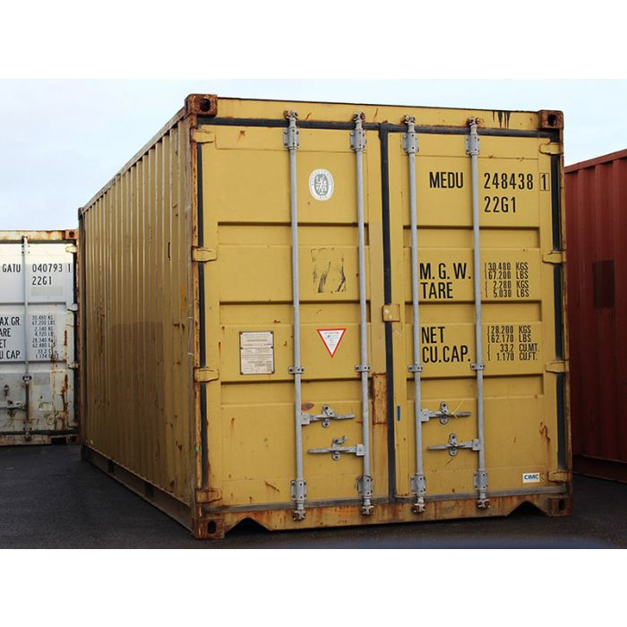 20ft Standard Wind and Watertight Container from Kansas City