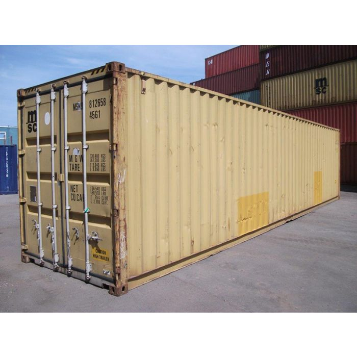 40ft High Cube Wind and Watertight Container from Kansas City
