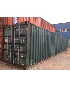 40ft Standard Cargo Worthy Container from Savannah