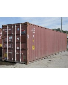 40ft Standard Cargo Worthy Container from Detroit